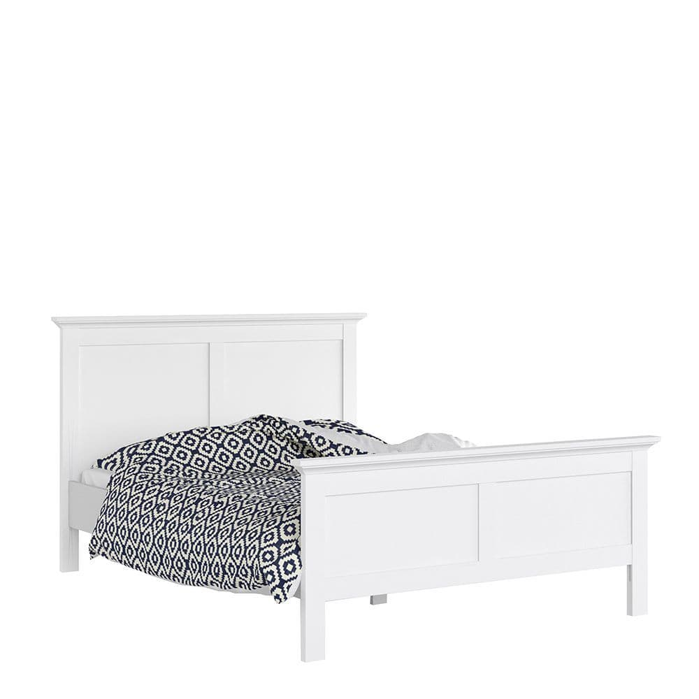 Parisian Chic King Bed (160 x 200) in White